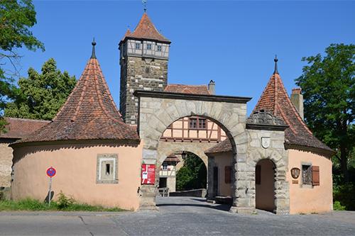 Rödertor of Rothenburg ob der Tauber
