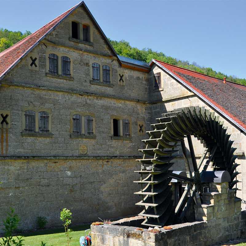 Mill in the Tauber Valley: Steinmühle