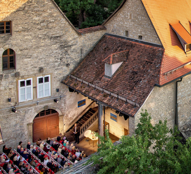 Toppler theatre in Rothenburg ob der Tauber