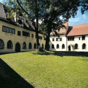 Inner yard of RothenburgMuseum