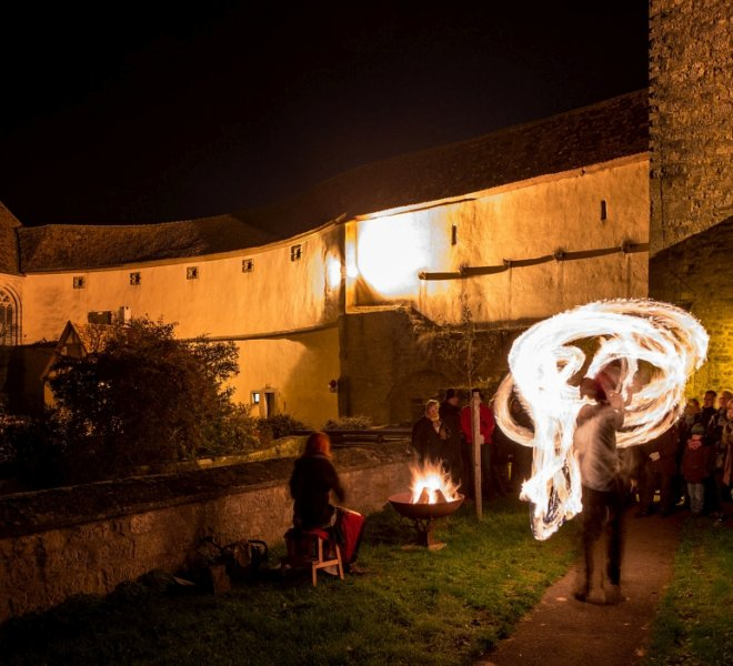 Guided tour during Fairytale Magic in Rothenburg ob der Tauber