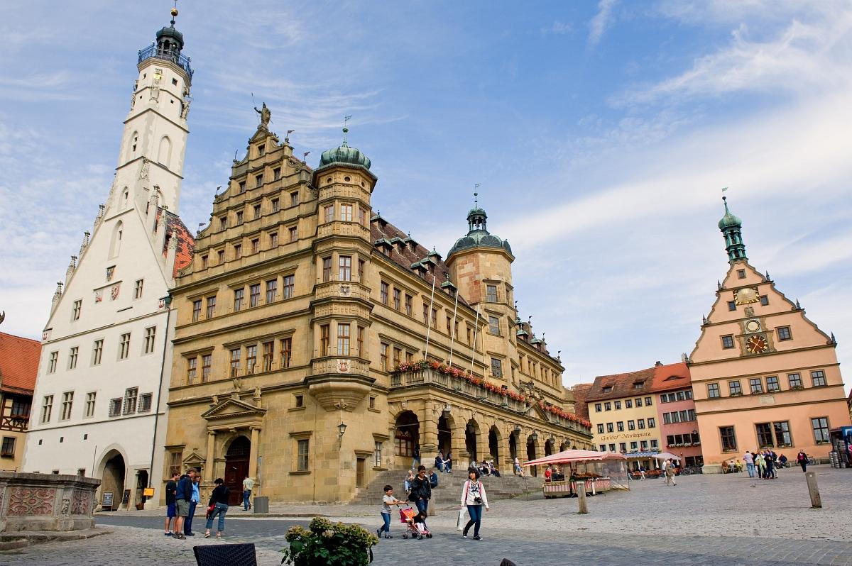 Market Square in Rothenburg ob der Tauber