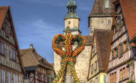 Rothenburg's Spring Awakening