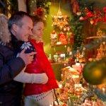 Shopping at Rothenburg's Christmas Market