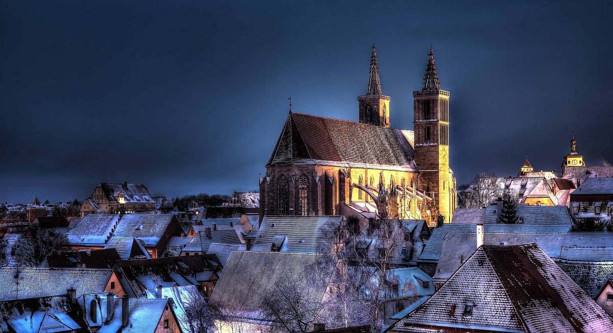 St. James Church in Rothenburg ob der Tauber