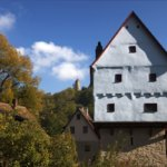 Toppler Castle in the Tauber Valley of Rothenburg ob der Tauber