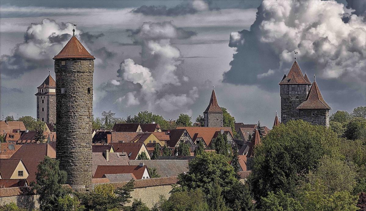 Tower Trail Rothenburg ob der Tauber