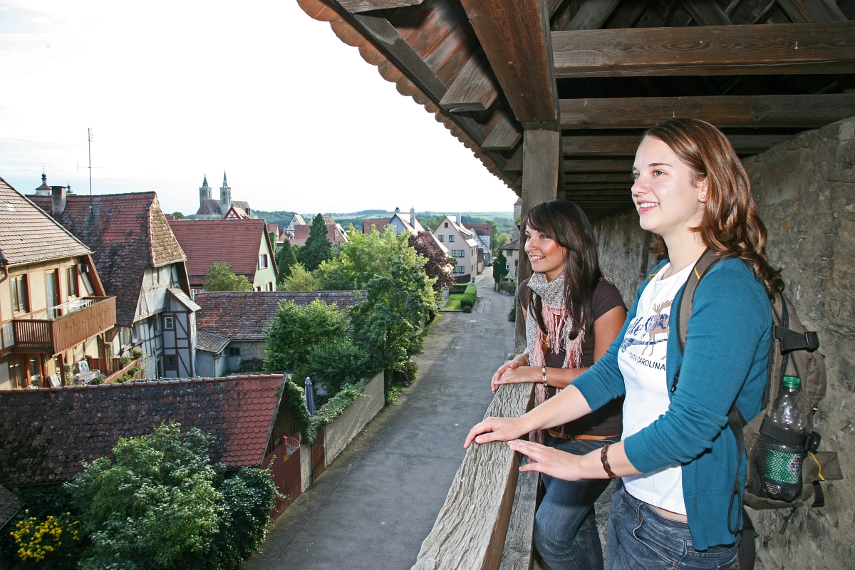 Tower Trail in Rothenburg ob der Tauber