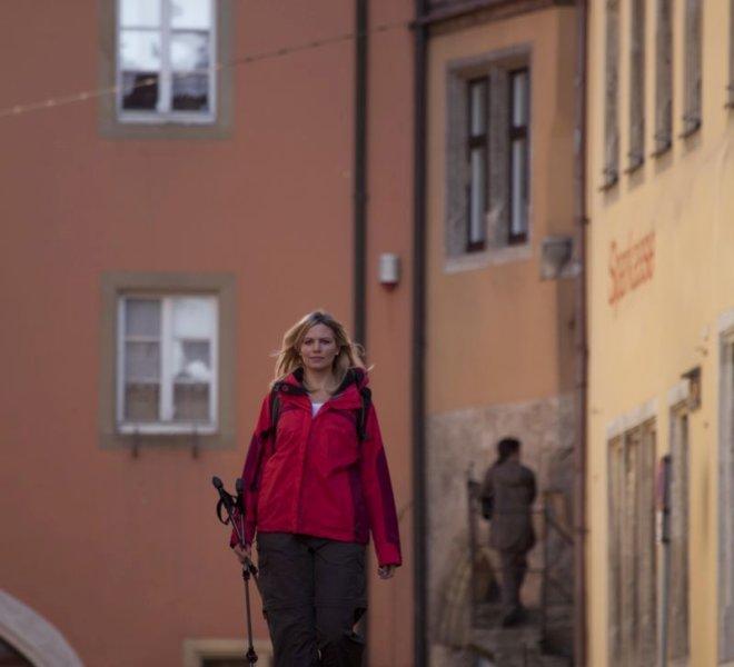 Hiking in Rothenburg ob der Tauber