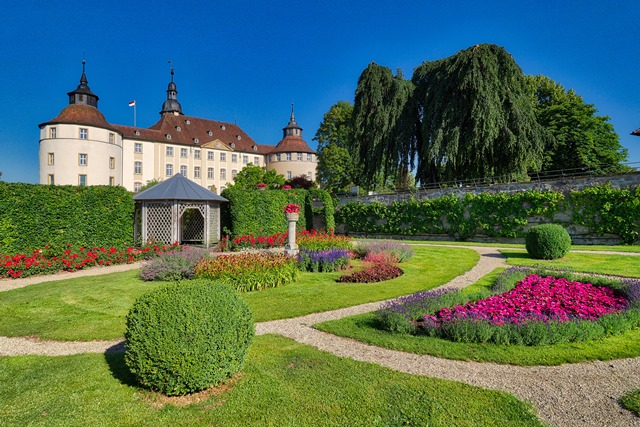 Garden of Langenburg Castle