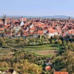 A view on Rothenburg's old quarter