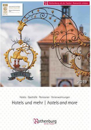 Hotels and more Rothenburg ob der Tauber 2019 Header image