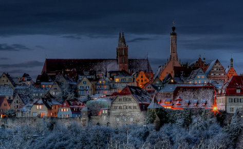 Rothenburg's Fairy Tale Magic