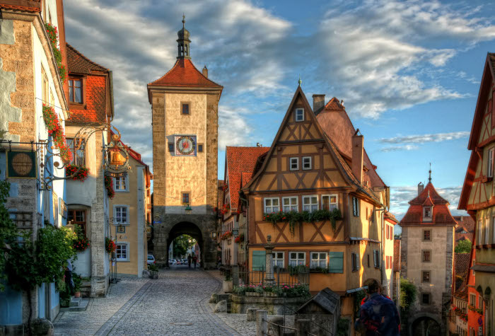 Ploenlein in Rothenburg - Pfitzinger