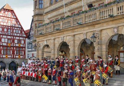 El festival histórico «Der Meistertrunk»