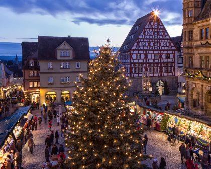 Jahreshöhepunkt Rothenburg - Reiterlesmarkt