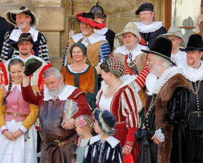 Jahreshöhepunkt in Rothenburg: Das Festspiel der Meistertrunk zu Pfingsten
