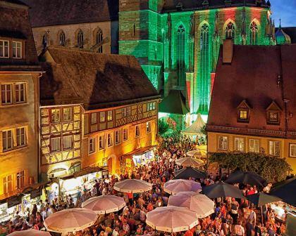 Jahreshöhepunkt in Rothenburg ob der Tauber: Weindorf