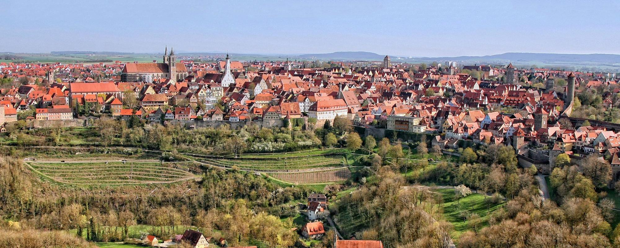 Herzlich Willkommen in Rothenburg ob der Tauber