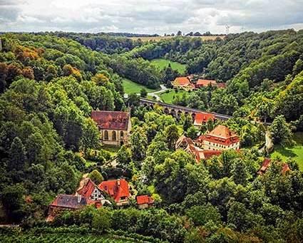 """Jahreshöhepunkt: Themenjahr """"Pittoresk: Rothenburg als Landschaftsgarten"""" - Blick ins Taubertal"""