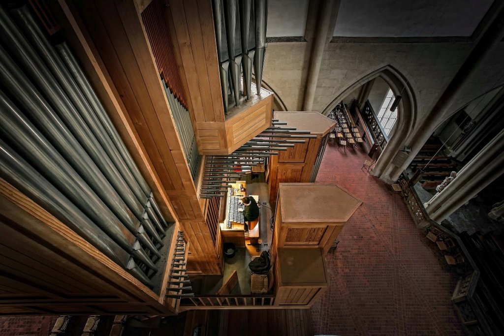 Die Orgel in St. Jakob