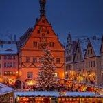 Reiterlesmarkt in Rothenburg ob der Tauber: Weihnachtsmarkt am Marktplatz
