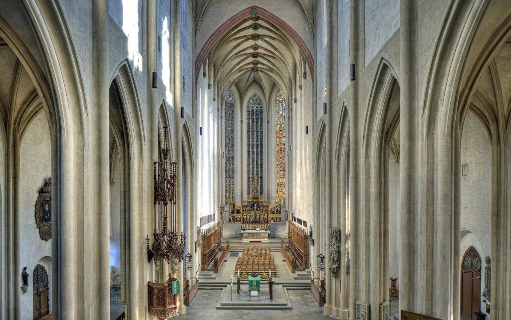 Blick auf den 12 Boten Altar von St. Jakob