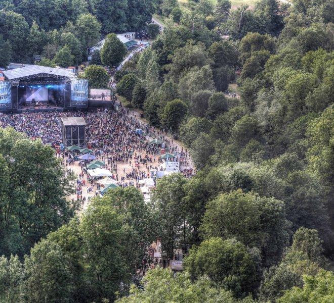 Rock bei Rothenburg: Das Taubertal-Festival auf der Eiswiese