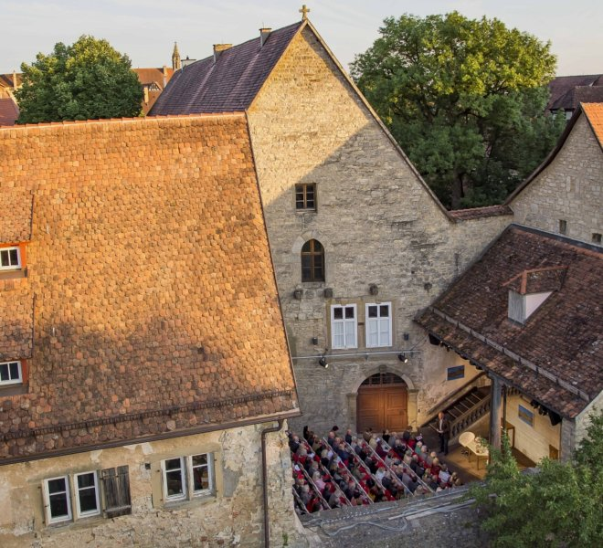 Das Toppler-Theater von Rothenburg ob der Tauber