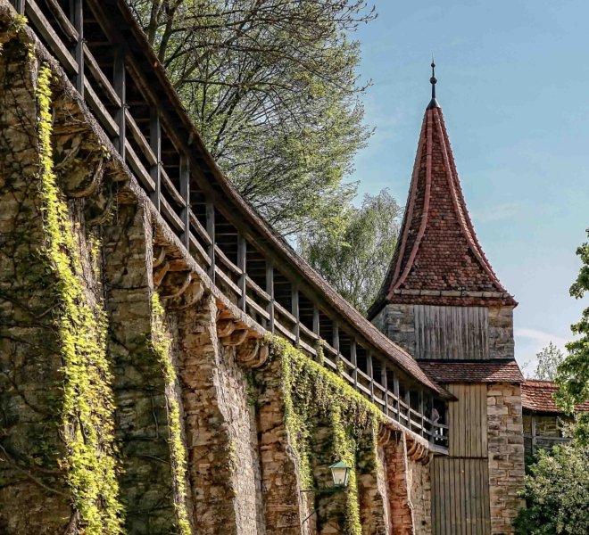 Unterwegs auf dem Rothenburger Turmweg