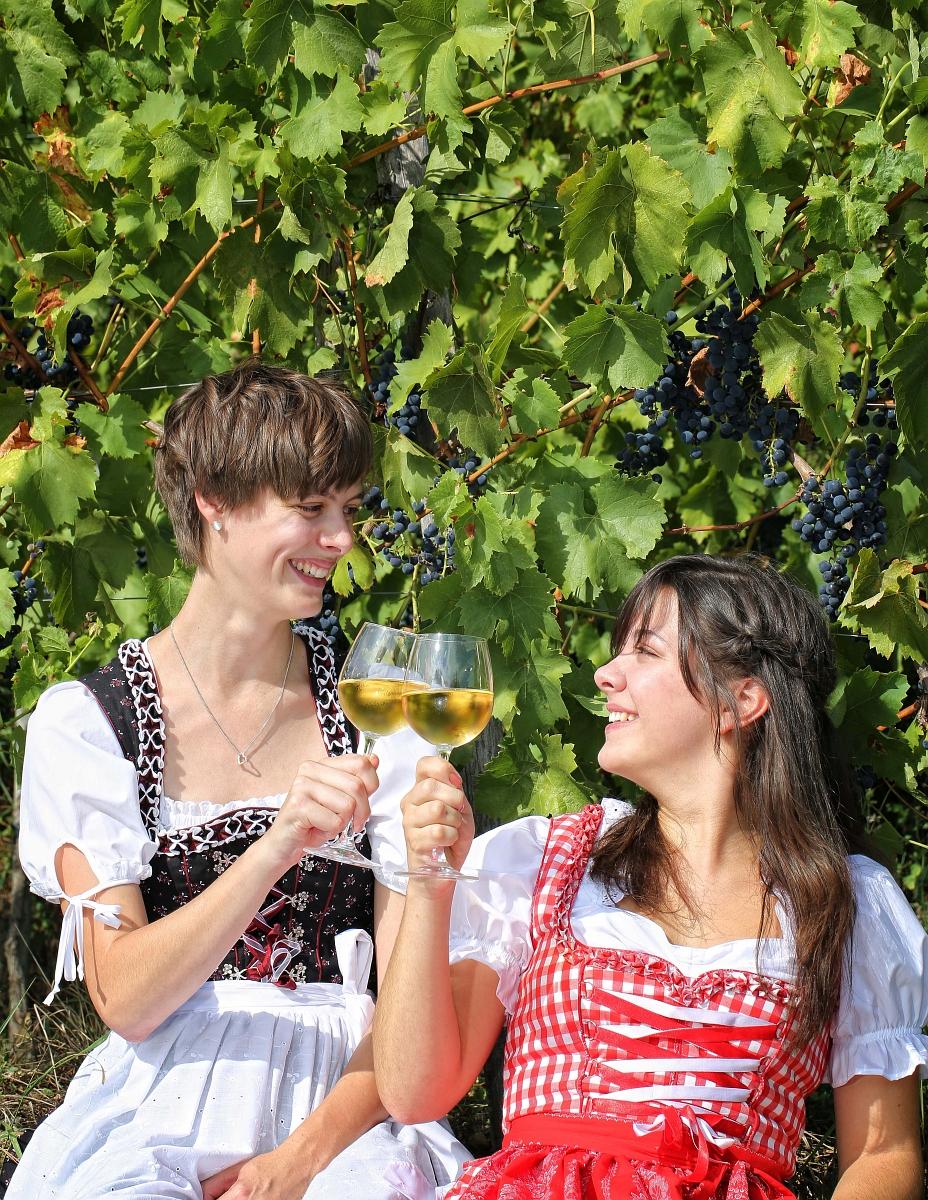 Bei Weinführungen werden Riesling und Co. auch verkostet
