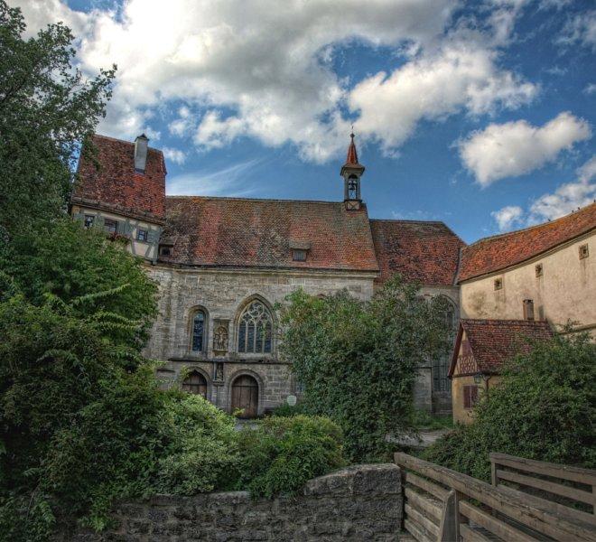 Wolfgangskirche in Rothenburg ob der Tauber