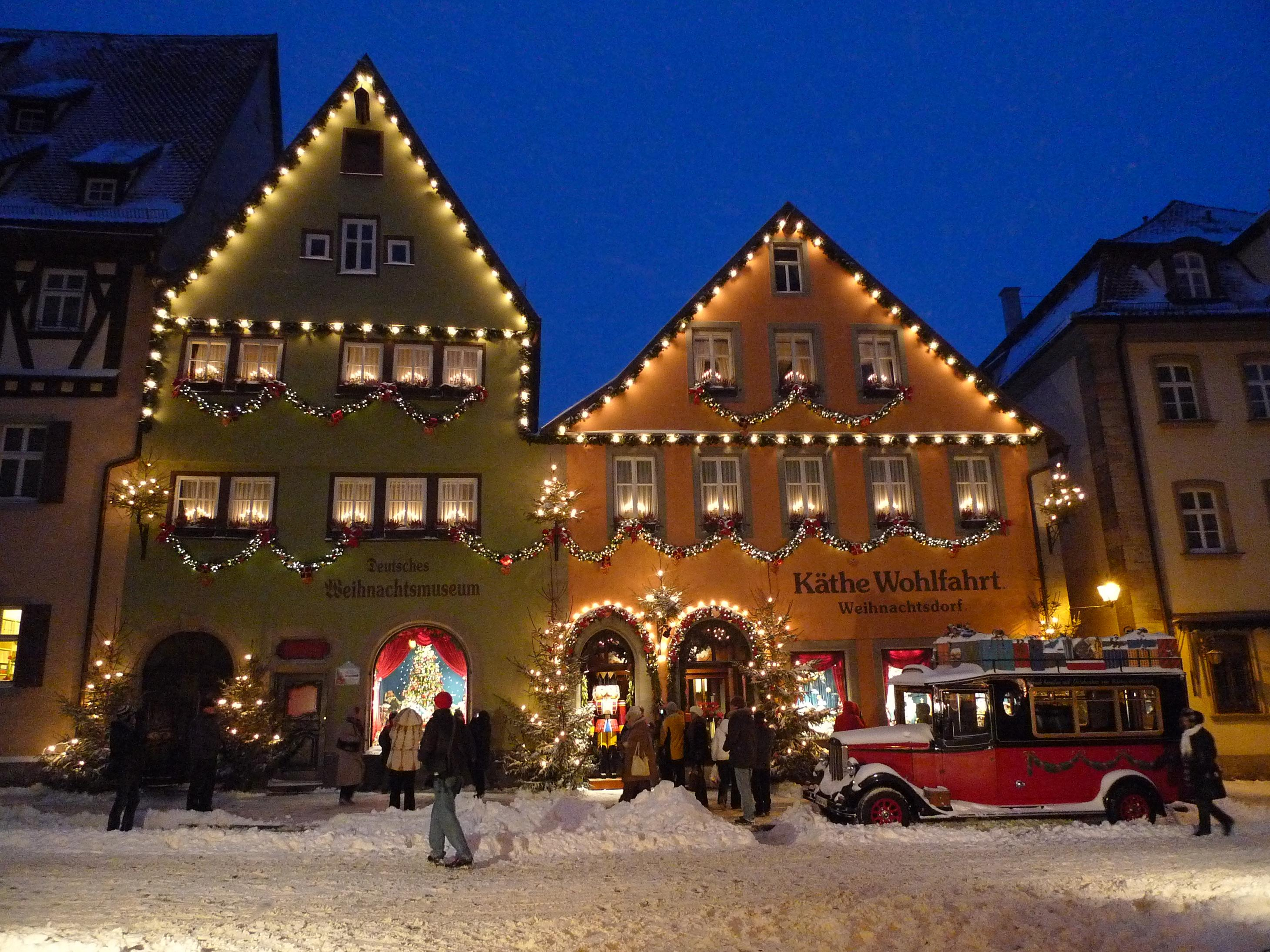 Käthe Wohlfahrt Deutsches Weihnachtsmuseum