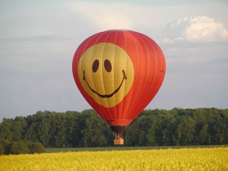 Happy Ballooning in Rothenburg