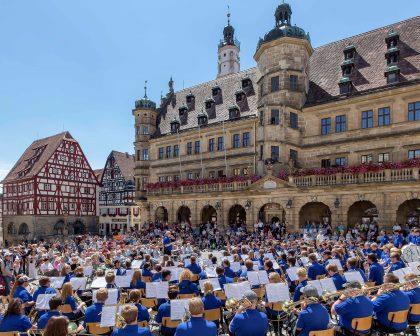 Jahreshöhepunkt in Rothenburg ob der Tauber: die Ambassadors of Music