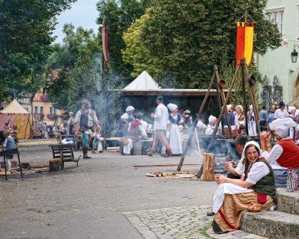 Jahreshöhepunkt in Rothenburg ob der Tauber: Reichsstadt-Festtage