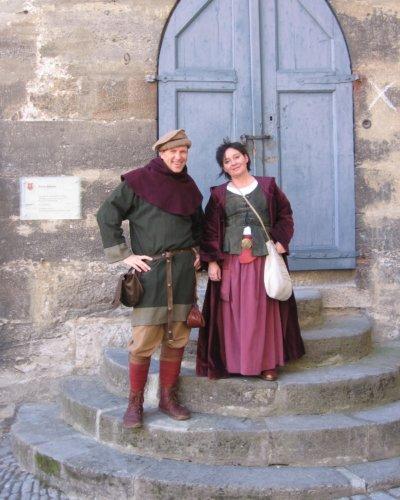 Führung Gästeführer Stadtführung Rothenburg ob der Tauber Kostüm
