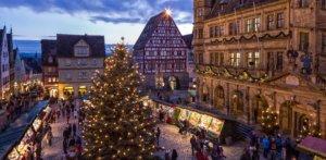 Pressebilder - Reiterlesmarkt in Rothenburg ob der Tauber - Hauptmarkt. Foto: Rothenburg Tourismus Service, Pfitzinger