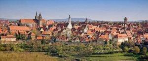 Stadtsilhouette Rothenburg ob der Tauber