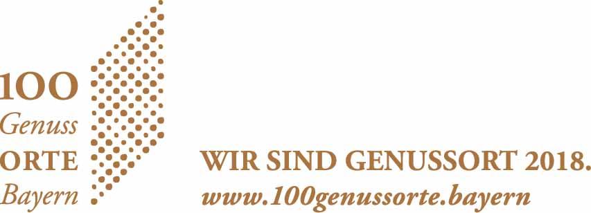 100 Genussorte Bayern Logo