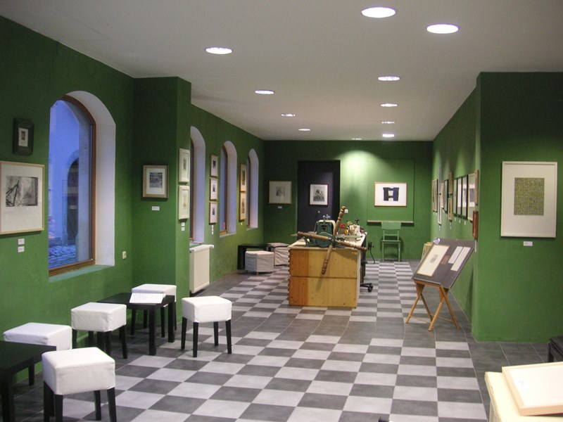 Grafikmuseum Rothenburg ob der Tauber Domdai Kunst Radierungen Radierung