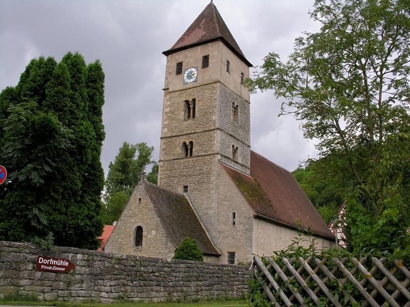 Kirche St. Peter und Paul in Detwang Rothenburg ob der Tauber