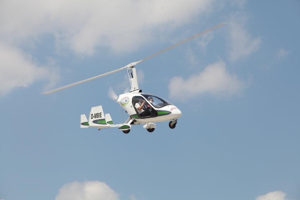 Rundflüge am Gyrocopter