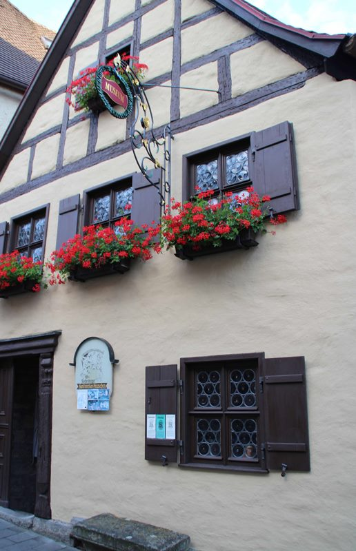 Handwerkerhaus in Rothenburg