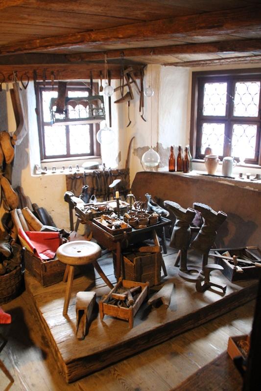 Handwerkerhaus Rothenburg ob der Tauber Mittelalter Fachwerk Museum