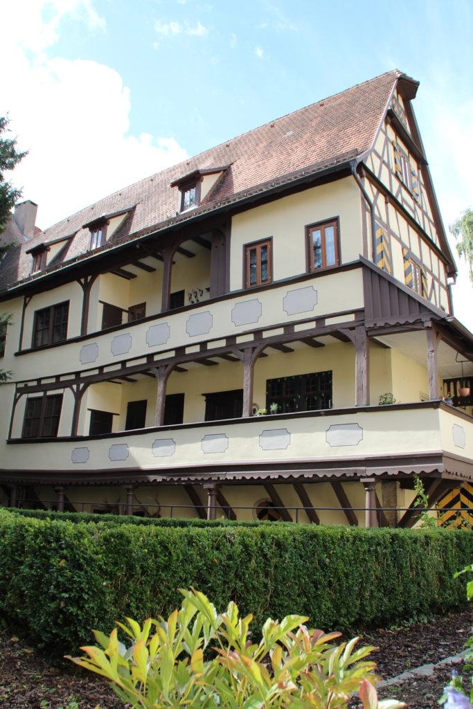 Rothenburg ob der Tauber Herrngasse Staudt Staudtsches Haus Patrizier Patrizierhäuser