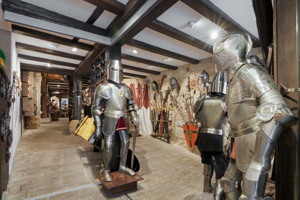 Kostümerlebnis in Der Waffenkammer