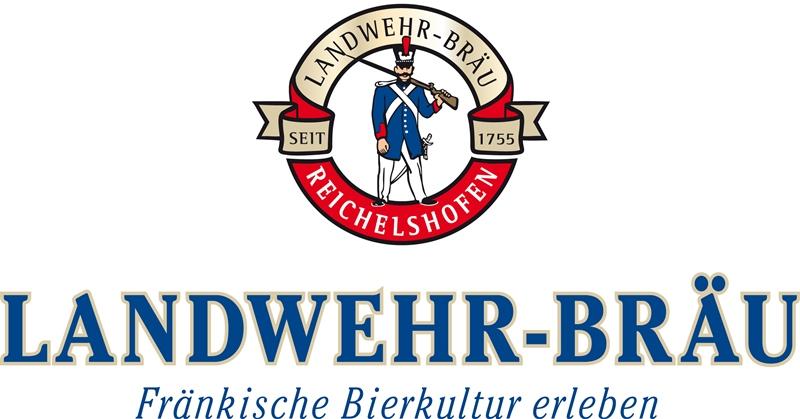 Landwehr Bräu Reichelshofen Logo Bier Brauerei