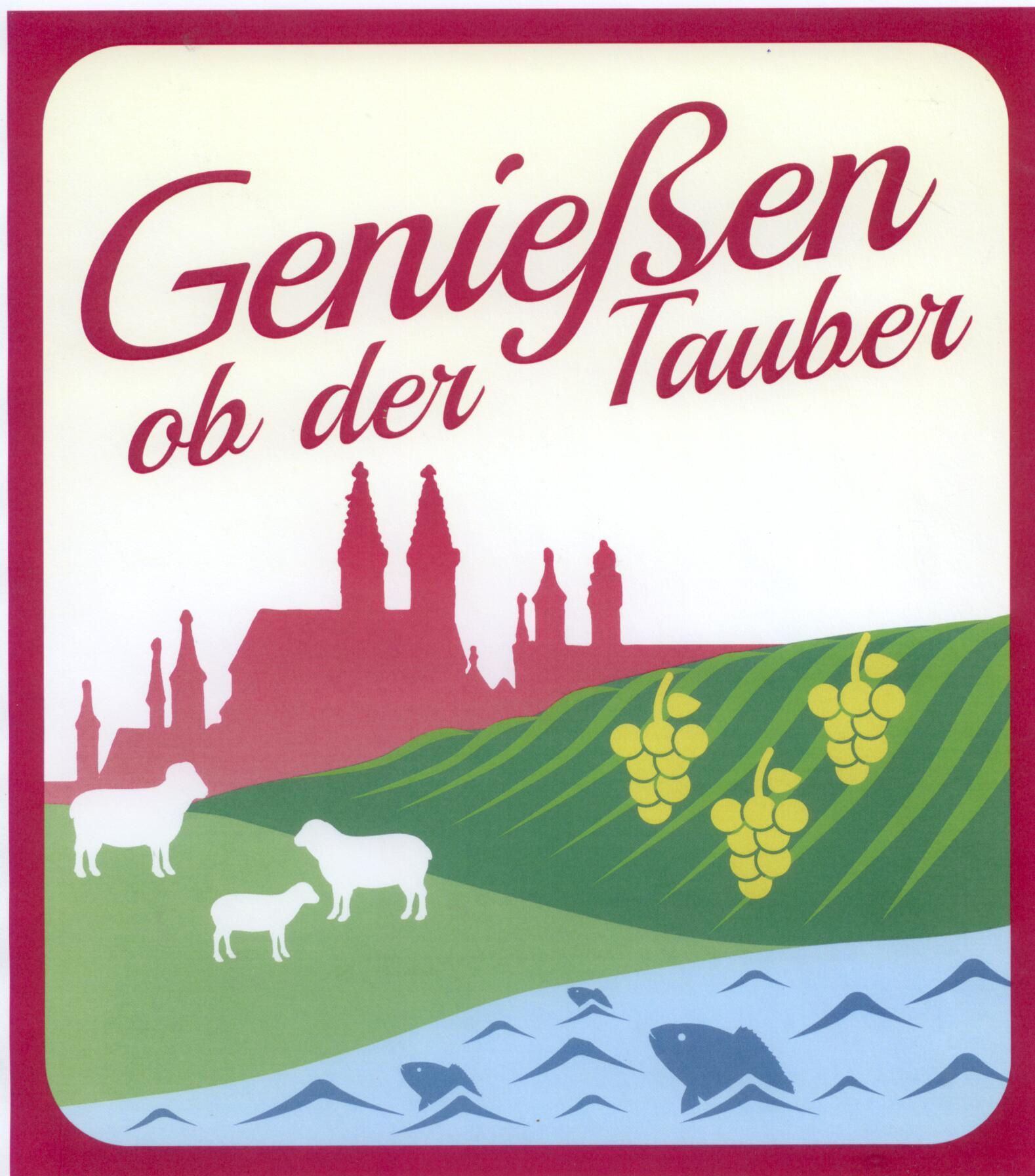 Logo Genießen ob der Tauber Wein Weinkulinarik