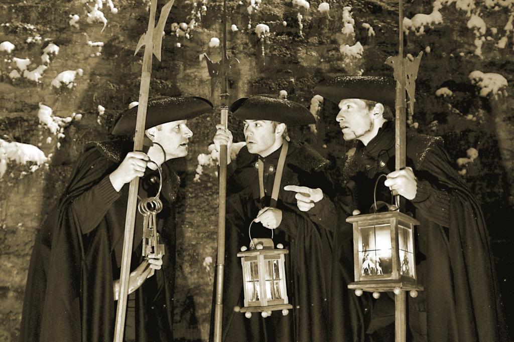 Die singenden Nachtwächter - Rothenburg